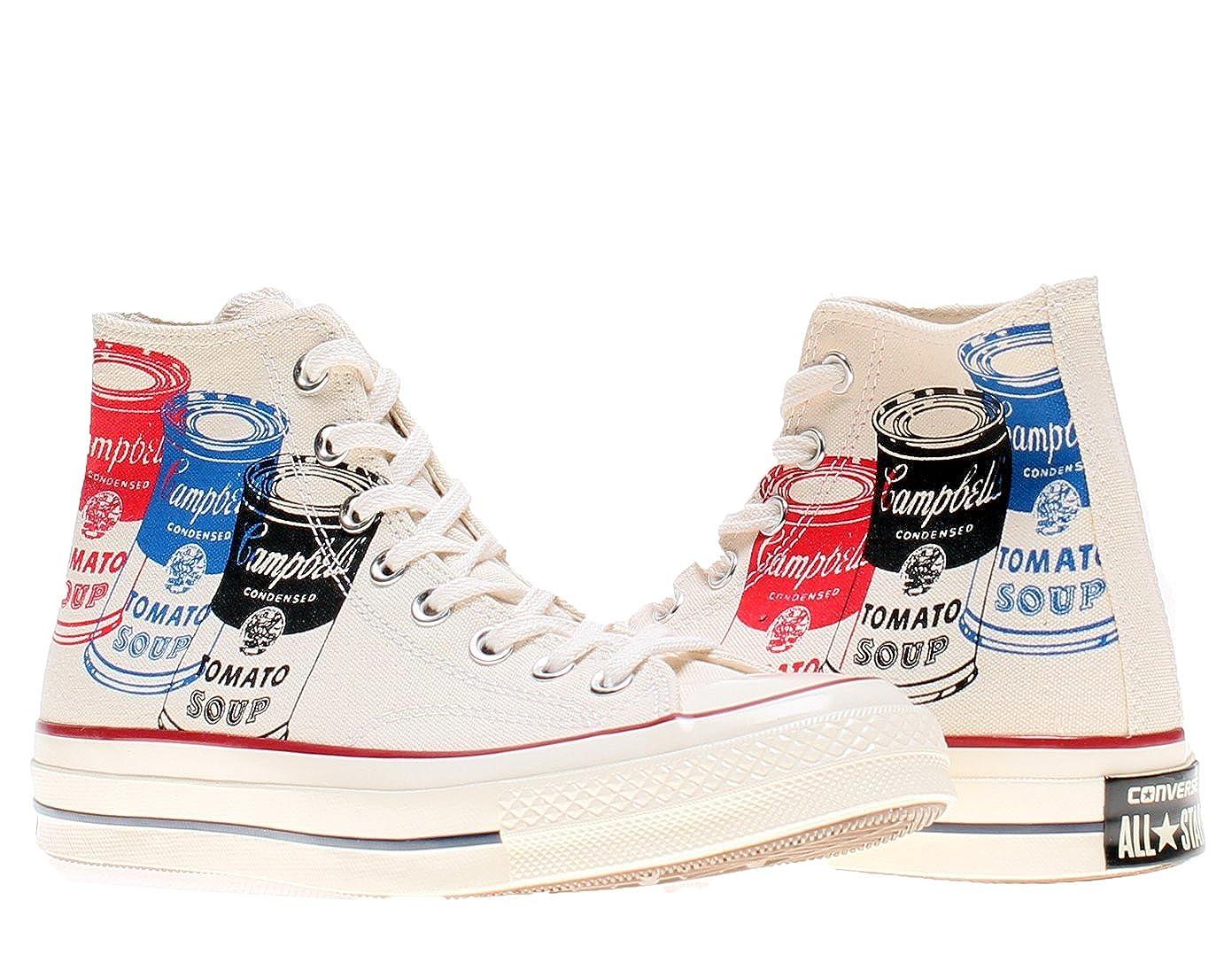 Zapatillas All Abotinadas 197's Blanco Converse Hi Star Prem Warhol N8wvmn0O