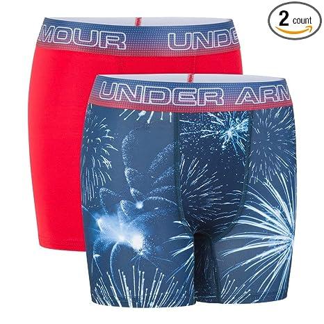 Under Armour Boys UA Original Series Home Run Hot Dog Boxerjock 2-Pack YMD Royal