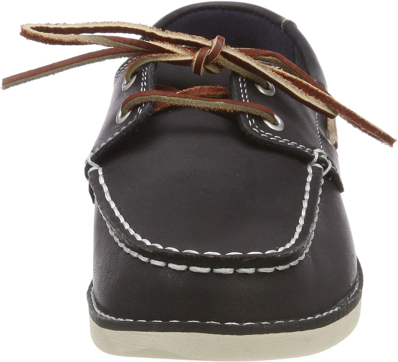 Timberland Seabury Classic 2 Eye, Chaussures Bateau Mixte Enfant Bleu (Blue 7a4)