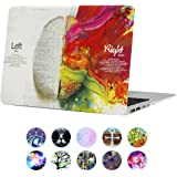 "MacBook Pro 15 inch Case with Retina Display (NO CD-ROM Drive) Funut 15"" Ultra Slim Protective Cover Colorful…"