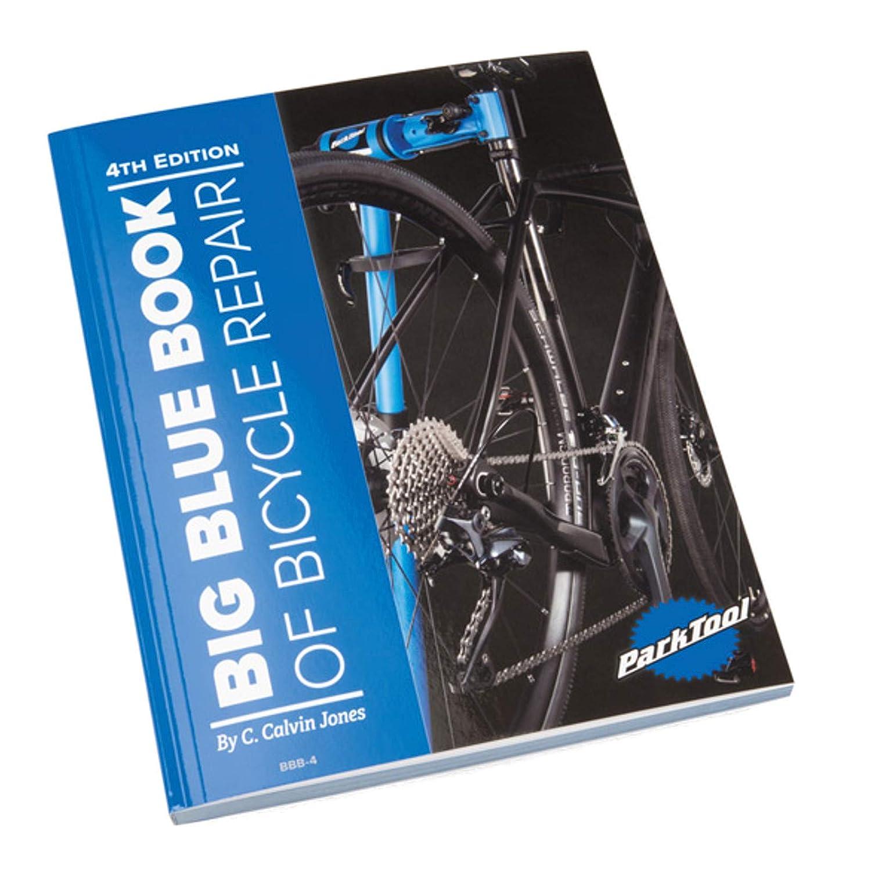 Park Tool BBB-4 BBB-4-Libro Azul Grande De Reparaci/ón De Bicicleta Volumen IV A4 Unisex Adulto
