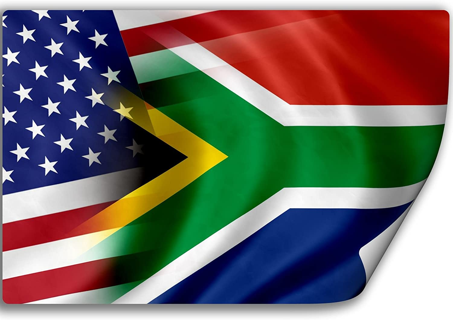 South African Flag Sticker Self Adhesive Vinyl south africa