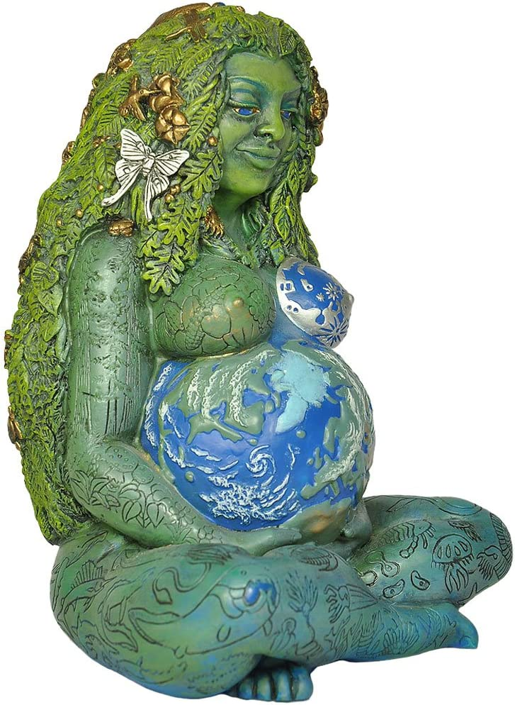 Raburt Mother Earth Goddess Statue GHIA Mutter Erde Statue Erde ...