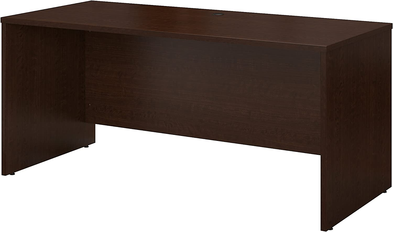 Bush Business Furniture Series C 60W x 24D Credenza Desk in Mocha Cherry