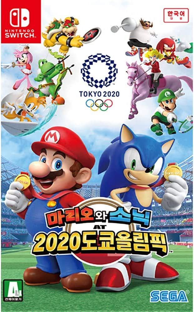 Best Nintendo Switch Games 2020.Amazon Com Mario Sonic At The Olympic Games Tokyo 2020