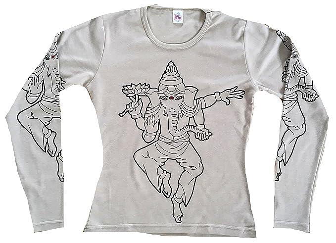 TICILA Ganesh Ganesha Hindu Vintage - Camiseta para Mujer, diseño ...