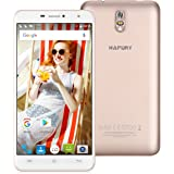 Cubot Hafury Umax Smartphone 6.0 Zoll 3G Smartphone, Android 7.0 MTK6580 Quad-core 1.3GHz IPS HD Screen Smartphone ohne Vertrag , 2GB RAM + 16GB ROM, 13.0MP +5.0MP Camera, Dual SIM Dual Standby, WiFi GPS Bluetooth Hotkont- Gold