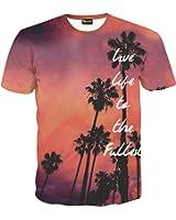 (ピゾフ)Pizoff メンズ Tシャツ 半袖 プリント モード系 ストリート おしゃれ ユニセックス カジュアル トップス