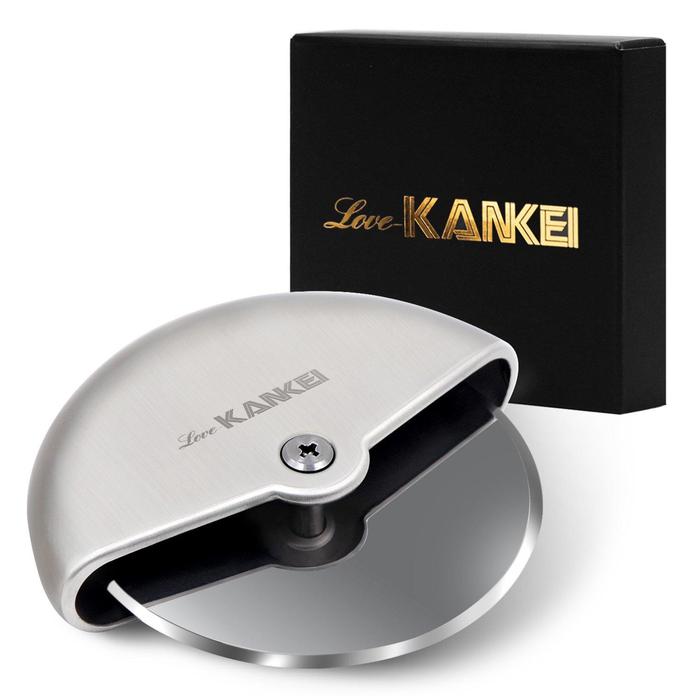 Love-KANKEI® Cortapizzas Cortador de pizza de acero/Pizza Cutter ...