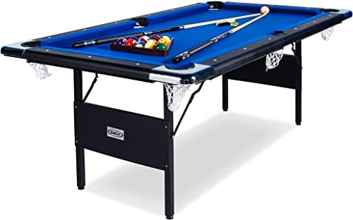 RACK Vega Folding 6-Foot Billiard Pool Table