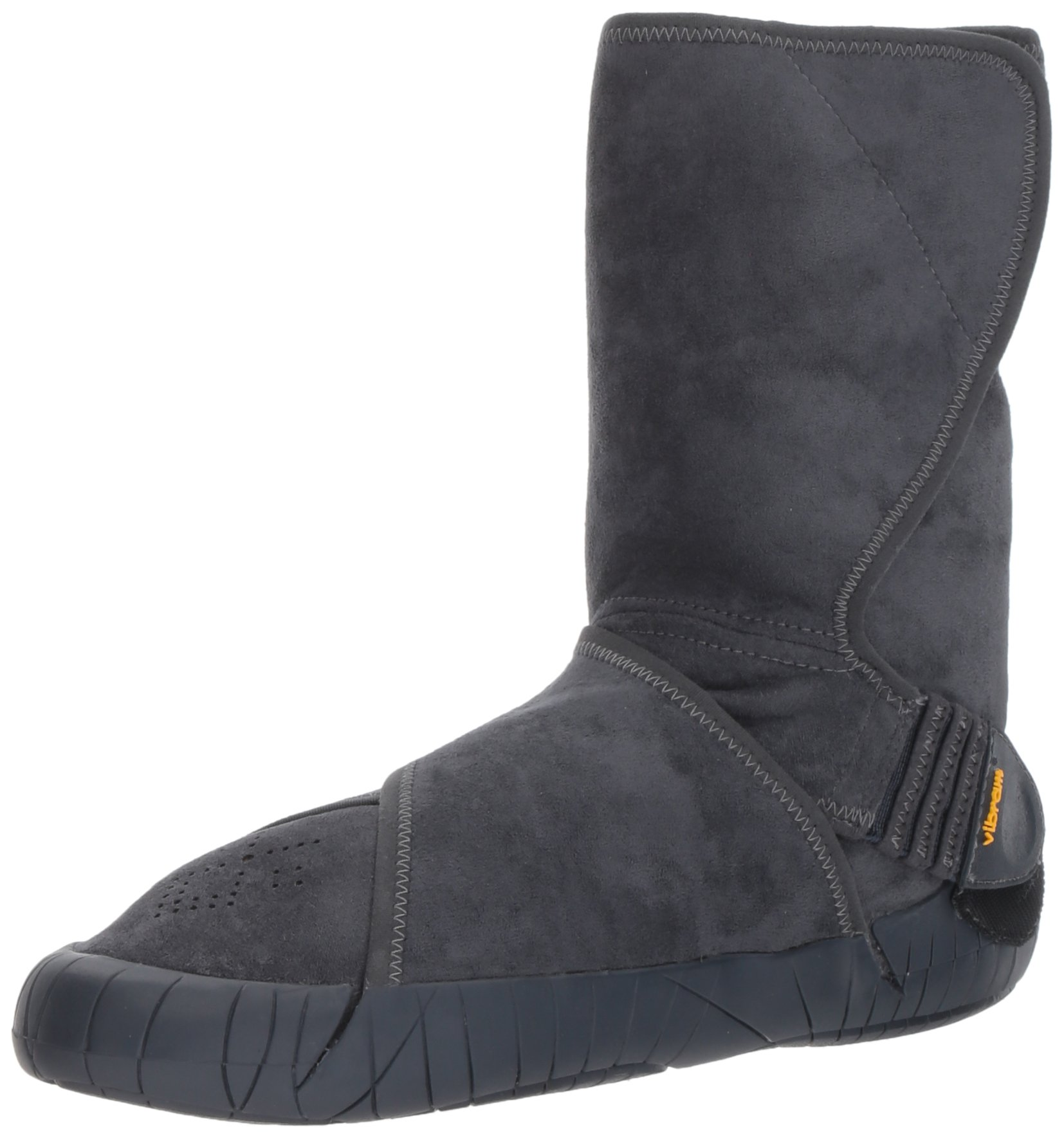 Vibram Furoshiki Mid Boot Eastern Traveler Sneaker, Grey, EU:42-43/UK Man:8-9/UK Woman:9-10.5/cm:26.5-27.5/US Man:9-10/US Woman:10-11.5