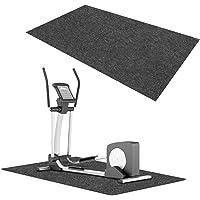 Onderlegmat, loopbandmat, waterdicht, voor fitnessapparaten, robuust, geluidsdempende vloerbeschermingsmat, hometrainer…