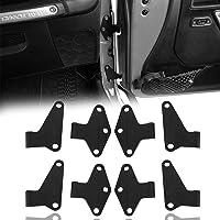 Hooke Road Body Door Hinge Set Compatible with Jeep Wrangler JK 07-18