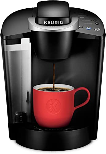 Best Keurig K-Classic Coffee Maker, Single Serve K-Cup Pod Coffee Brewer, 6 to 10 Oz. Brew Sizes, Black