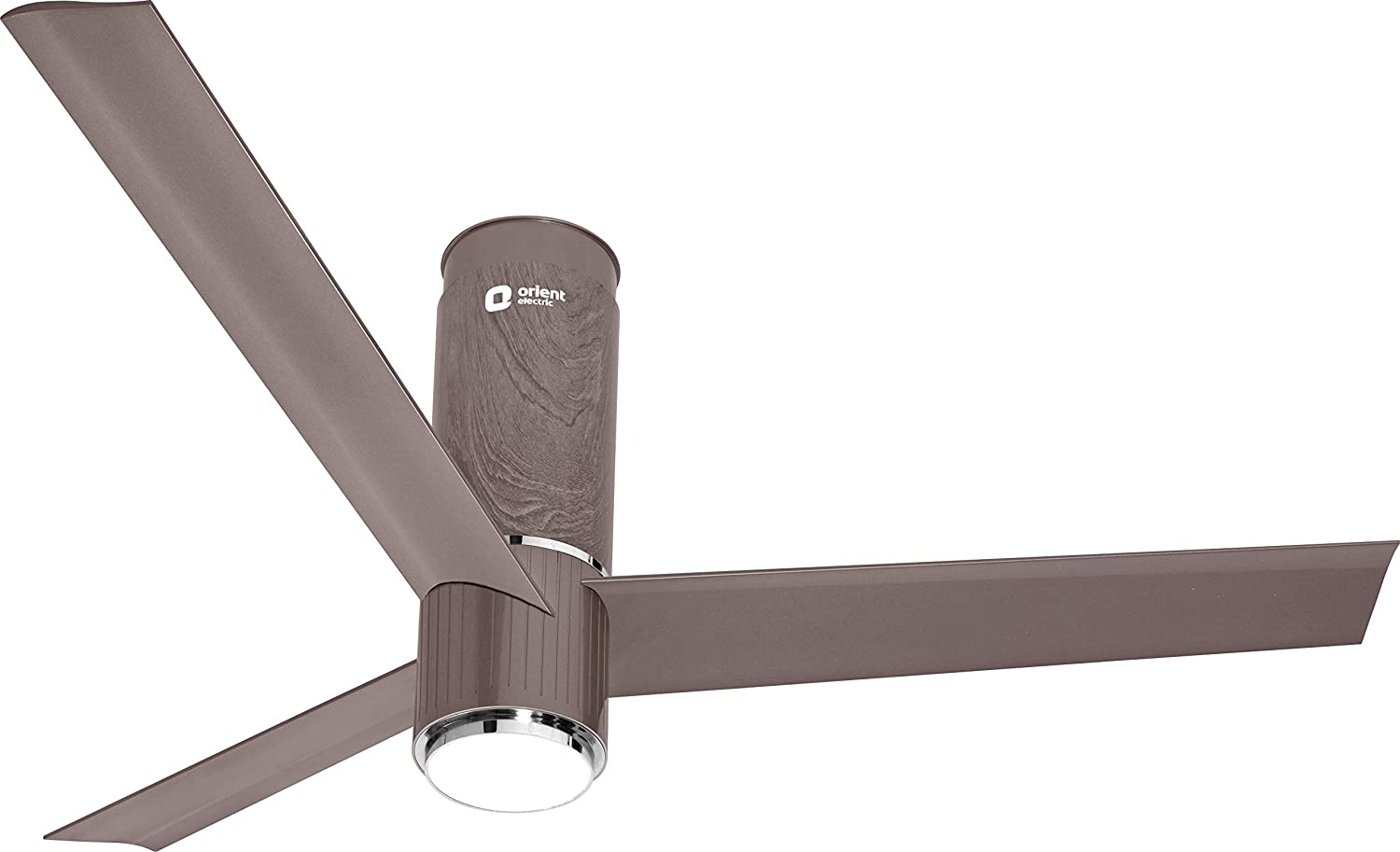 Orient Electric Aeroslim 1200mm Smart Premium Ceiling Fan with IOT, Remote & Underlight (Champagne Brown)