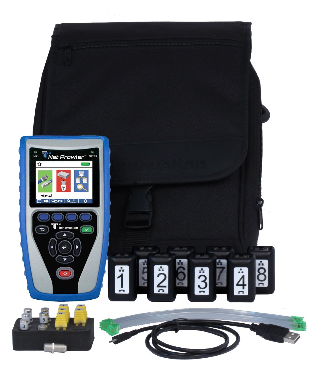 Best Network Cable Tester Reviews Top 10 Report In January 2019 Lan 10base Bnc Rg45 And Rj11 Etc Circuit Testers T3 Innovation Np750 Net Prowler Cabling Advanced