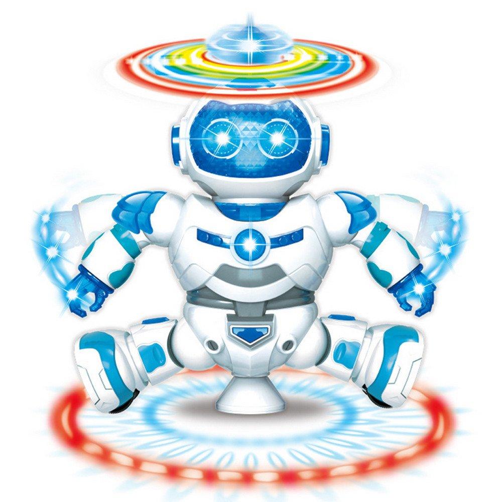Gbell Funny Inductive Sensing Robot Model,Follow Any Drawn Line Magic Marker Pen Kids Boys Girls Toy Gift Random