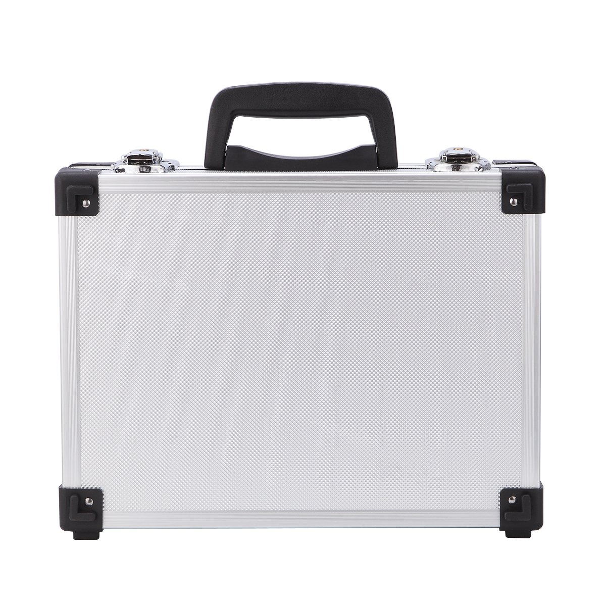 Professional Aluminum Hard Hand Gun Cases Office File Briefcase Outdoor Travel Flight Cases Home Tool Boxes with Quick Locks by ALUBOX (Image #4)