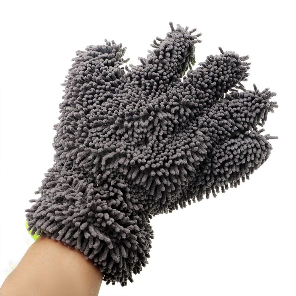 Holdream voiture /à laver Gants en microfibre de nettoyage pour voiture outils Gants