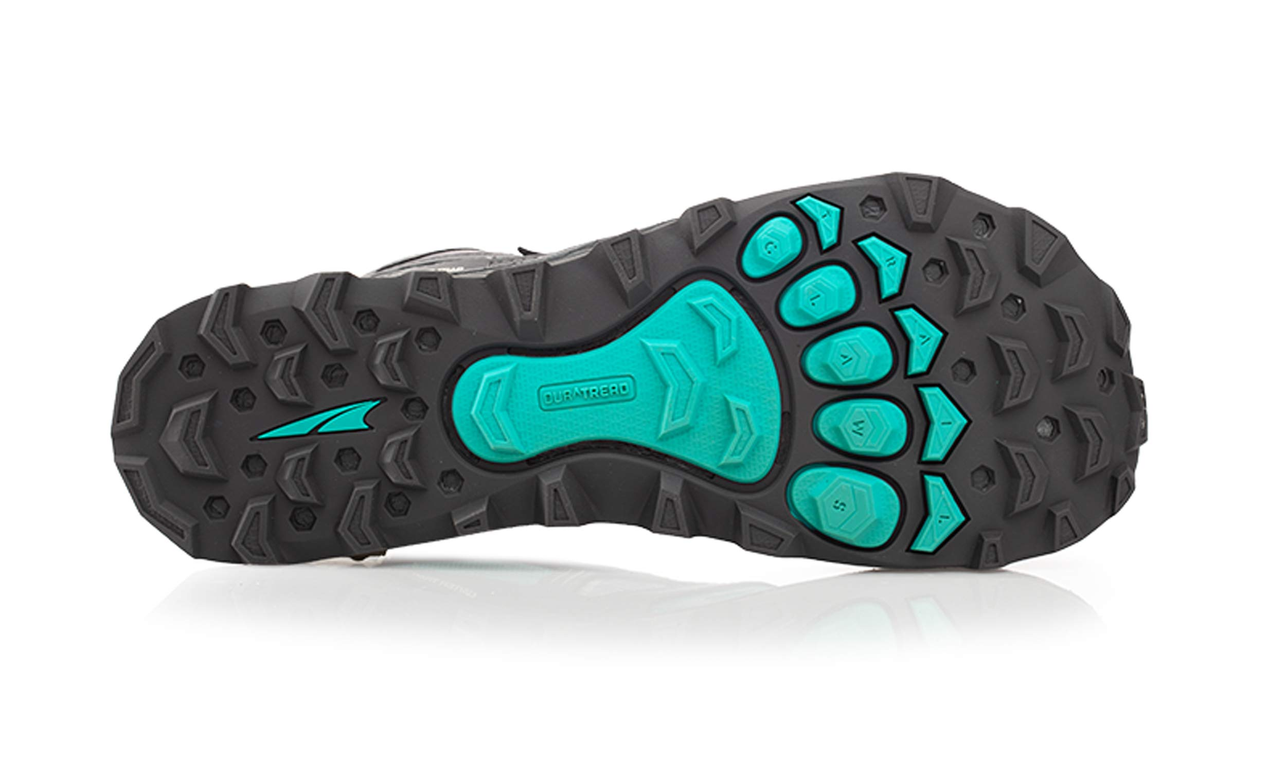 Altra Women's Lone Peak 4 Mid Mesh Trail Running Shoe, Teal/Gray - 6 B(M) US by Altra (Image #4)