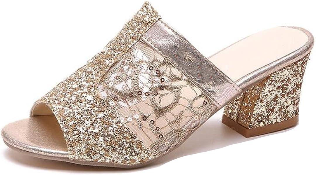 d2881977487ae6 Women Sandals Bling Fashion Peep Toe Women Shoes Sandal Woman High Heels  Slipper