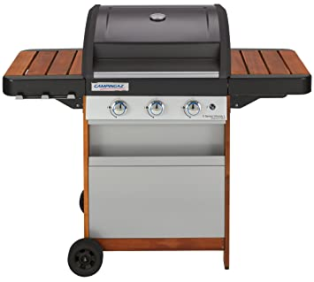 Campingaz 3 Series.Campingaz 3 Series Woody L Stainless Steel Grill Black Gray