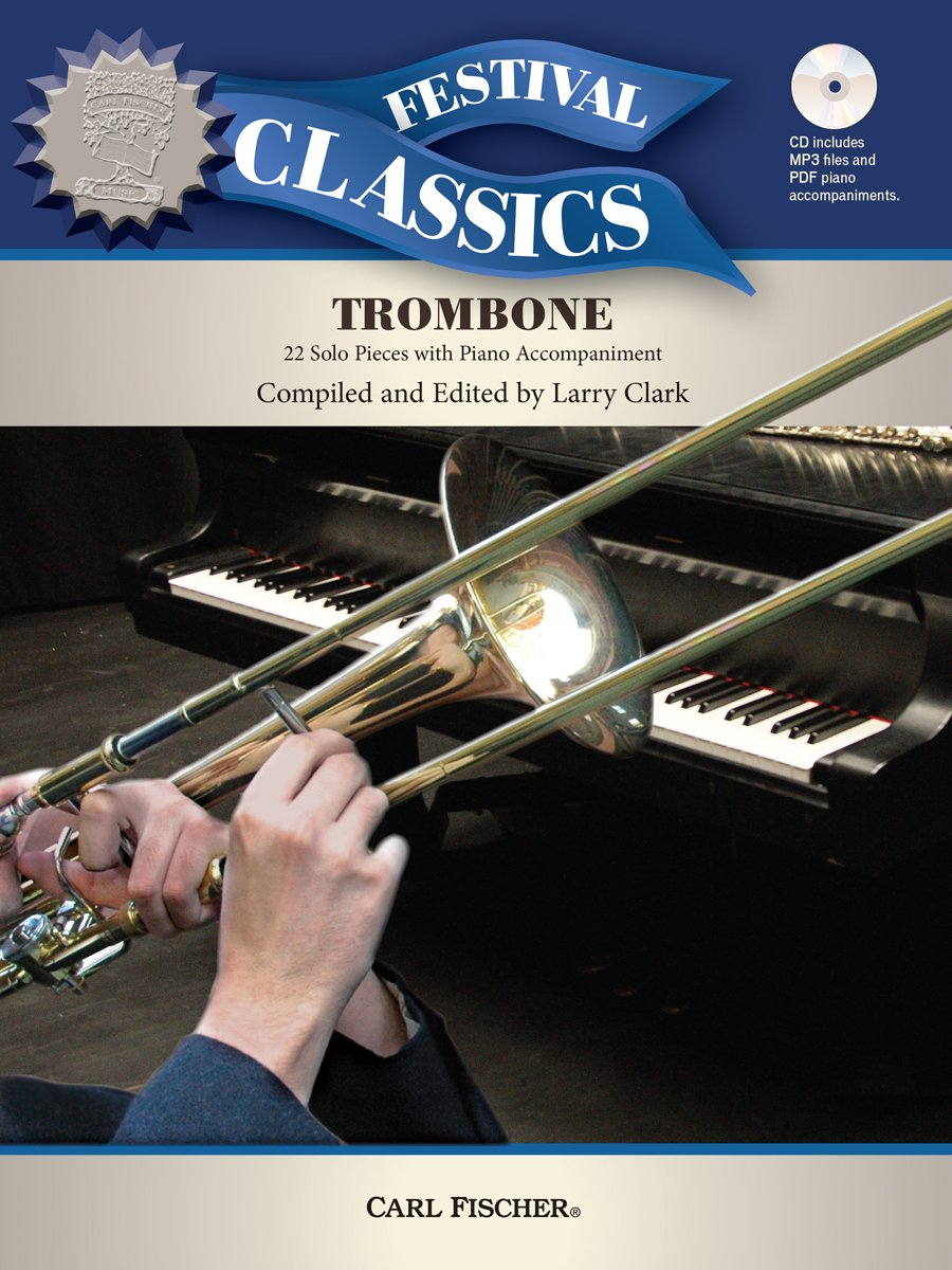 WF181 - Festival Classics for Trombone: 22 Solo Pieces with Piano Accompaniment