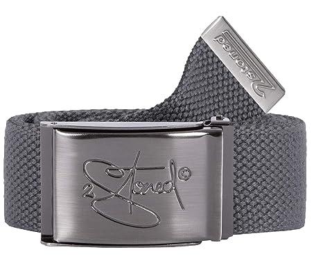 factory price b8ca5 8783b 2-stoned wear Original 2stoned wear Web Belt wide 1,57 inch in Dark