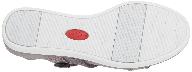 Anne Klein Women's Nolita Sport Sandal B078G91JL2 6.5 B(M) US|Pewter Fabric