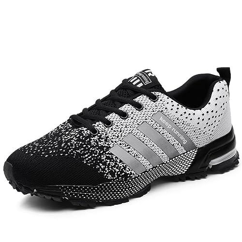 Zapatillas de Deporte Hombres Zapatos de Gimnasia para Caminar de Peso  Ligero Zapatillas de Deporte Zapatos Deportivos para Hombre  Amazon.es   Zapatos y ... 9d8955fb4856f