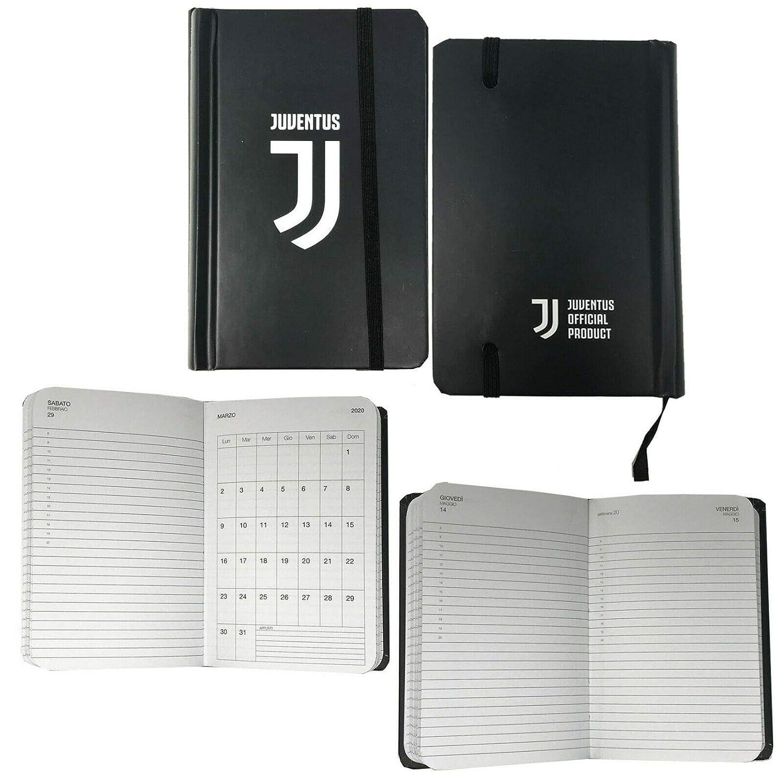 Juventus Tageskalender 2020 F.C Pocket Gr/ö/ße 14.7 x 9.8 cm