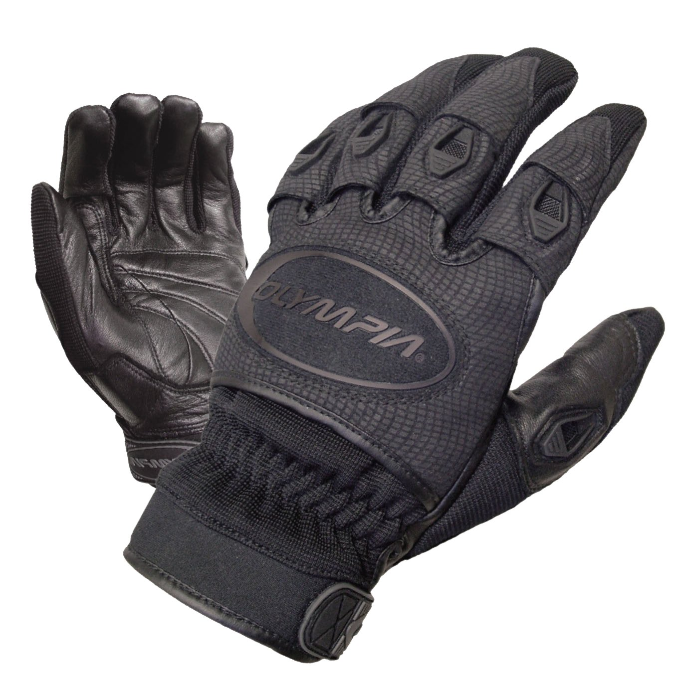 Olympia Sports Men's Ventor Gloves (Black, Small)