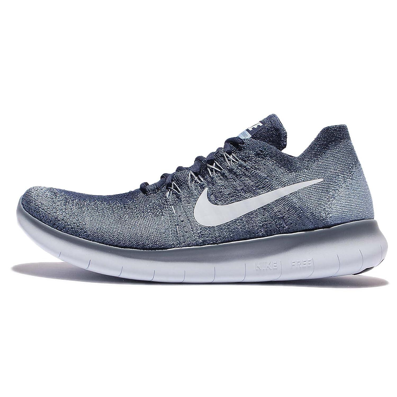 Nike Pánské Free RN Flyknit 2017 Běžecké boty Modrý/Šedá 100% zajištění kvality Q85282