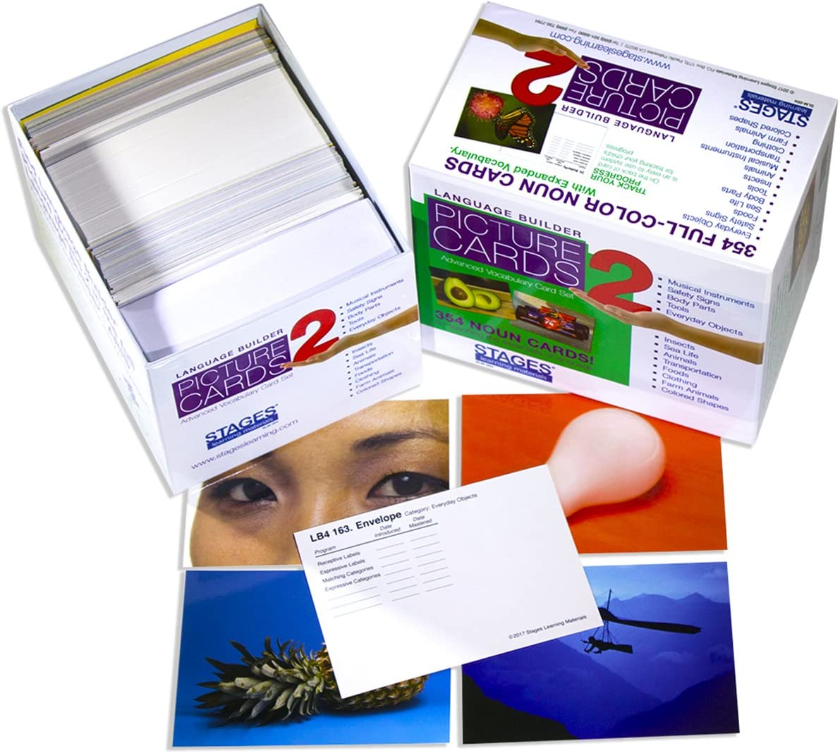 Stages Learning Materials Language Builder Picture Noun Cards