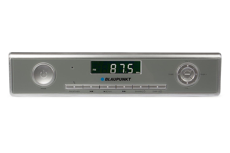 Blaupunkt KRB 20 SV Reloj Digital Plata - Radio (Reloj, Digital, PLL,UKW, 3 W, LCD, Plata): Amazon.es: Electrónica