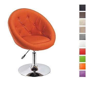 Fauteuil de salon Orange fauteuil club similicuir fauteuil cabriolet