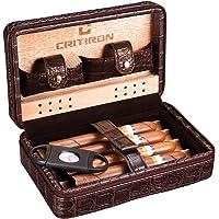 CRITIRON Humidor de Cigarros, Caja Cigarros Bolsa