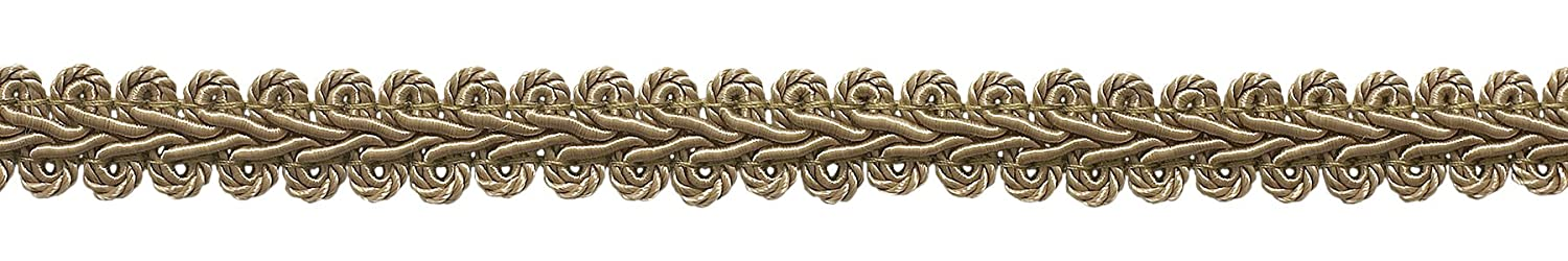 DecoPro 9 Meter Value Pack of 1.27cm Basic Trim French Gimp Braid, Style# FGS Color: Sandstone/Beige - A10 (30 Ft)