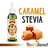 NatriSweet Caramel Stevia Liquid Drops (2 fl oz / 60 Milliliter) | Zero-Calorie Natural Sugar Substitute | Highly Concentrated Stevia Extract | Naturally Flavored