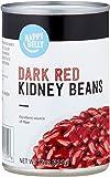 Amazon Brand - Happy Belly Dark Red Kidney Beans, 15 oz