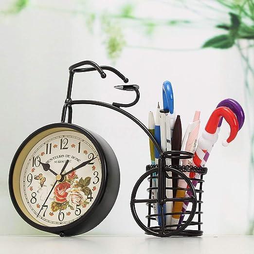 PUQU Reloj de Mesa Vintage, Retro, clásico, clásico, para ...