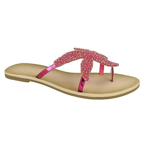 Con Diseño Sandalias Dedo Mujer Savannah De Estrella Para Mar qzjLSUMVGp
