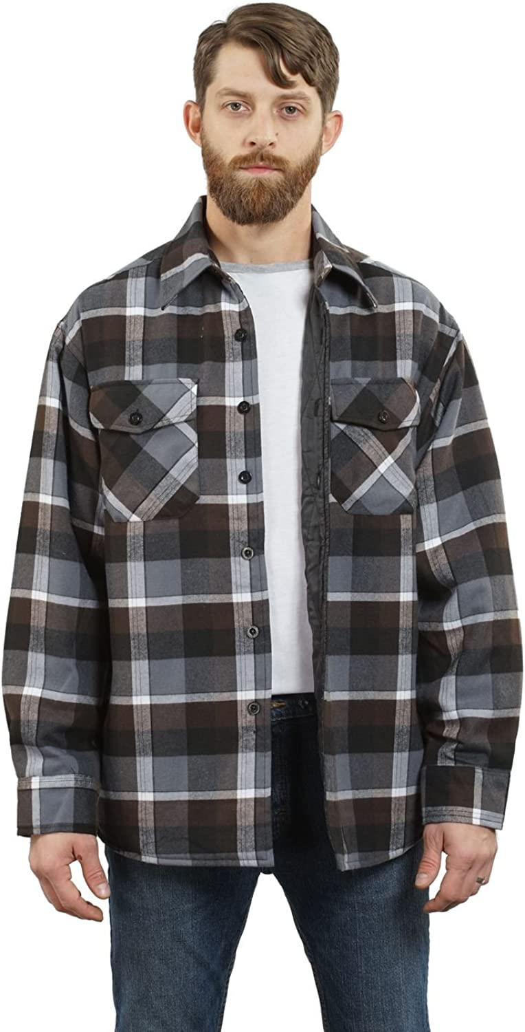 BURNT FLANNEL for Men by Sullen Small up to 3XL