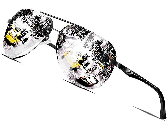 28e970862f26b8 Lunettes Hommes Cadre Métal De Attcl Polarisé En Soleil Aviator TfPqWpwZ