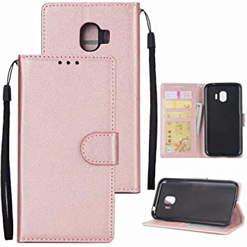 finest selection baaac d776c Samsung Galaxy J4 2018 Case Ttimao Retro PU Leather: Amazon.co.uk ...
