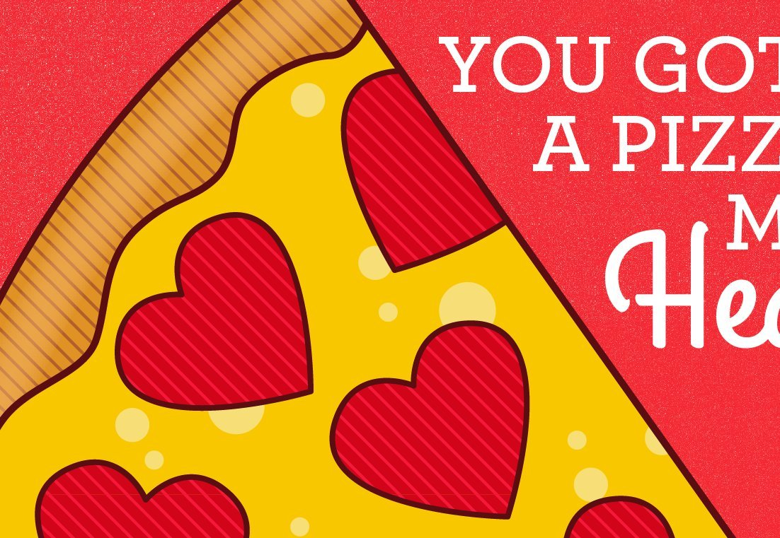 Amazon Pizza Love Card Pizza Pun Card Pizza My Heart Pizza