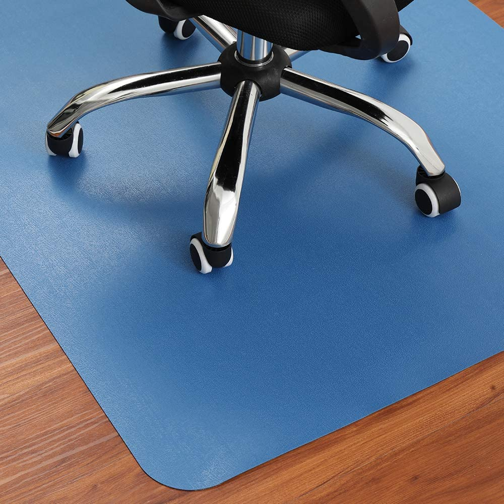 Office Chair Mat Multi-Purpose Thick Desk Mat Anti-Slip 35 x 47 Inches Floors Protector Rectangle Chair Carpet for Hard Surfaces Tile Hardwood Floor