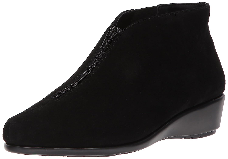 Aerosoles Women's Allowance Ankle Boot B06Y5ZKNCG 7 W US Black Suede