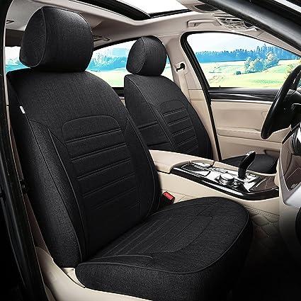 AutoDecorun 5 7 Seats 16 22PCS Set Custom Flax Automotive Seat Covers For