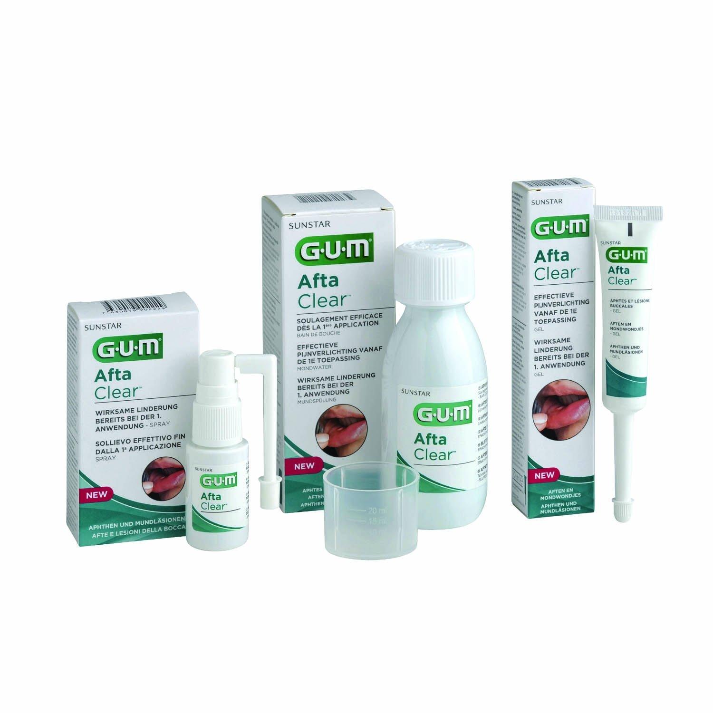 SUNSTAR - AFTACLEAR GUM COLUTORIO 120 ML: Amazon.es: Salud y ...